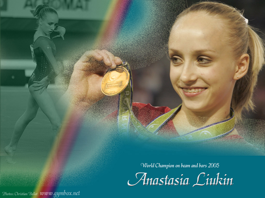 Wallpaper Anastasia (Nastia) Liukin 768x1024