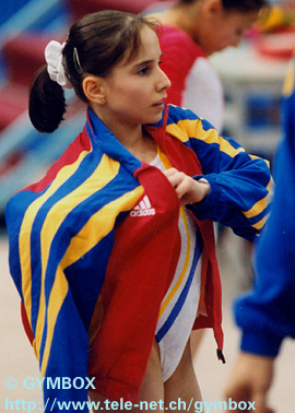 Loredana at the 1999 World Championships