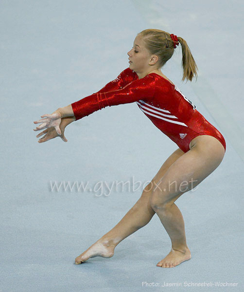 Shawn Johnson Kunstturnen, gymnastics